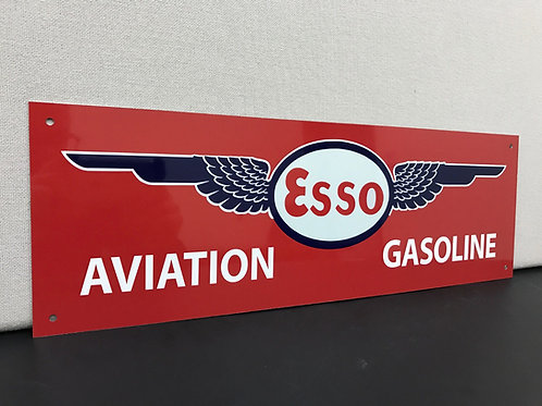 ESSO AVIATION REPRODUCTION SIGN