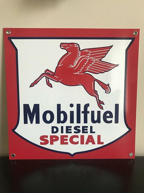 Mobilfuel Diesel Special Vintage Sign