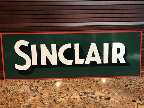 Sinclair Opaline Oil Sign