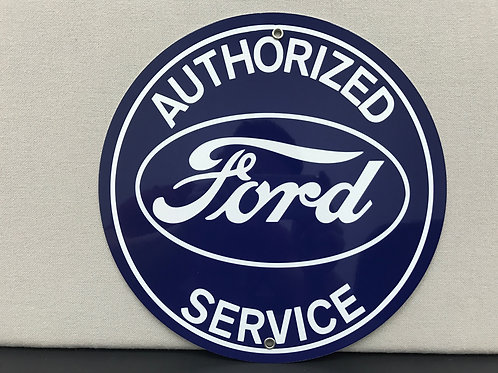 FORD SERVICE REPRODUCTION SIGN