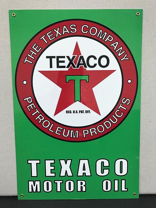 TEXACO MOTOR OIL GREEN