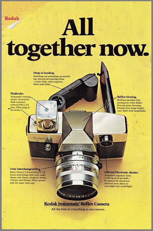 Kodak Camera Film Metal Reproduction Poster