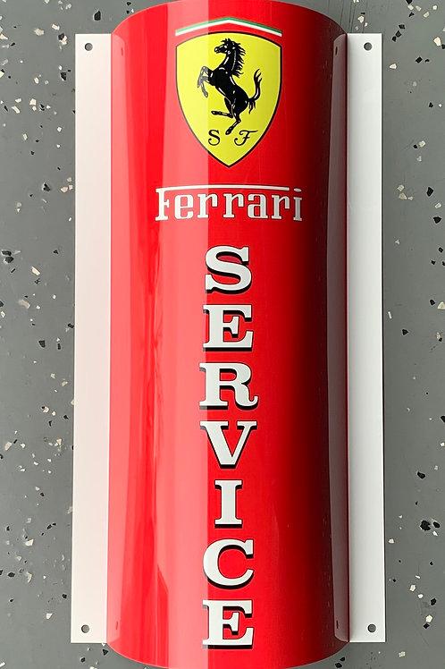 Ferrari Service_Red