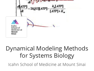 Dynamical Modeling Methods for Systems Biology
