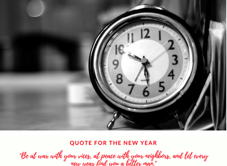 Quote for the New Year