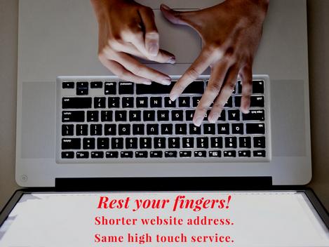 New Website Address
