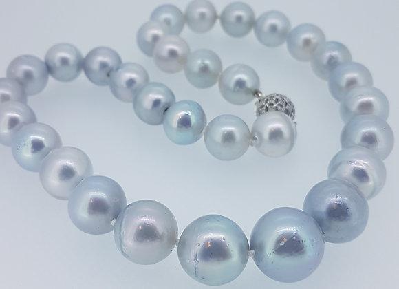 Grey South Sea pearls
