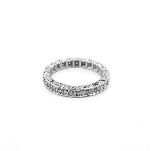18Ct Full diamond eternity ring