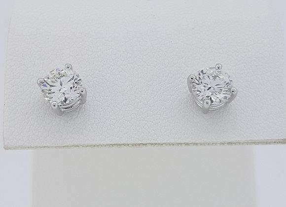 Diamond studs 1.02cts G SI1