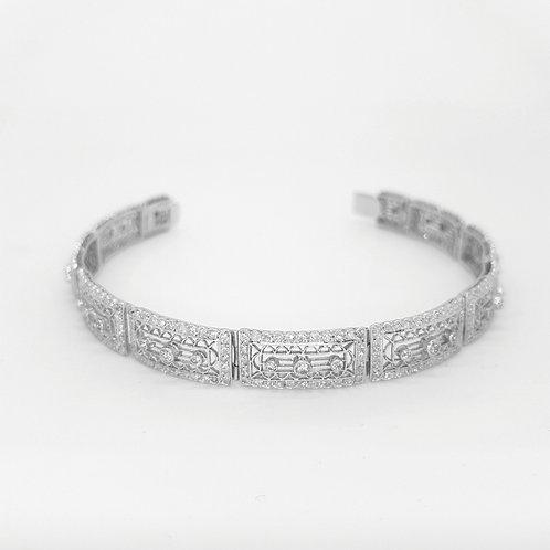 Bell Epoche diamond bracelet.