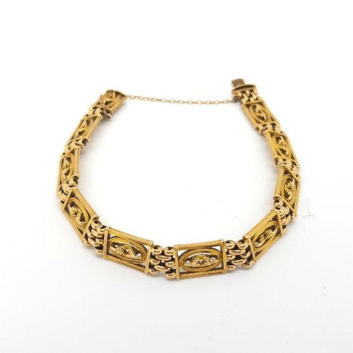 Victorian15ct gold bracelet