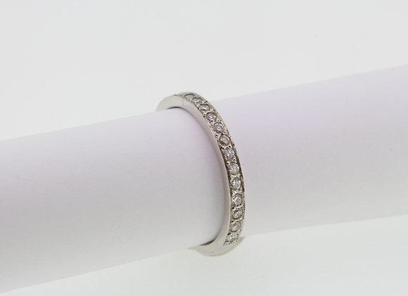 Platinum and diamond half et