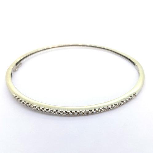 14Ct Diamond bangle est 0.50Cts