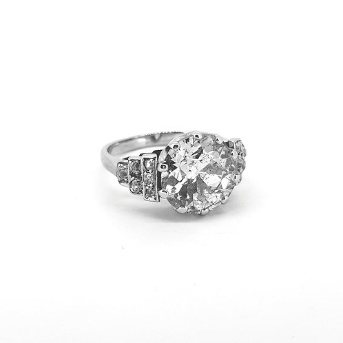 4.10Cts Old cut diamond ring est.