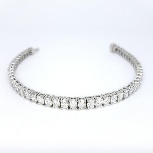 Diamond line bracelet 17.2gms D12.68CTS