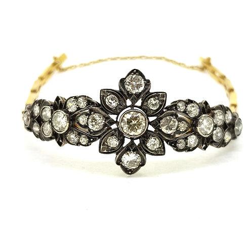 Antique diamond bracelet estimated 6.0CTS.