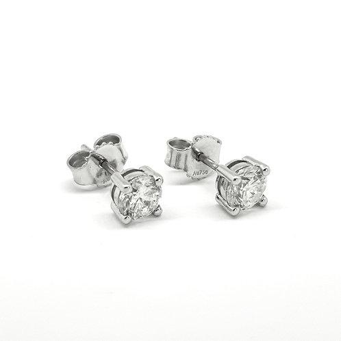 Diamond studs 0.91cts