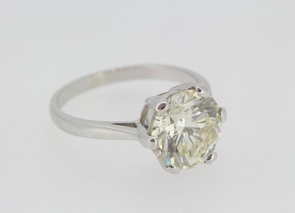 Diamond solitaire D3.75cts