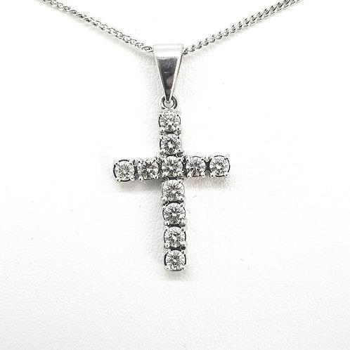 Diamond cross D1.30Cts