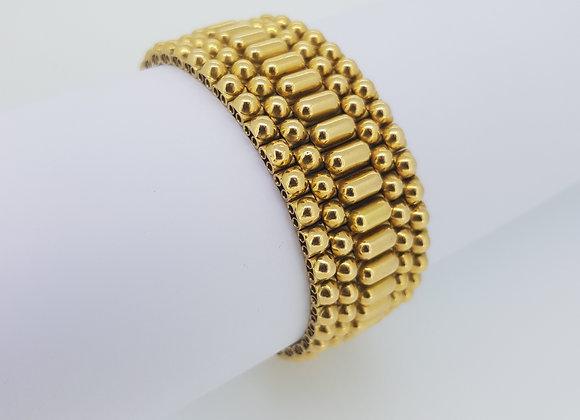 French 18ct gold bracelet.