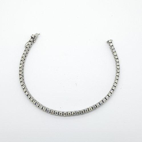 Diamond line bracelet 5 CTS