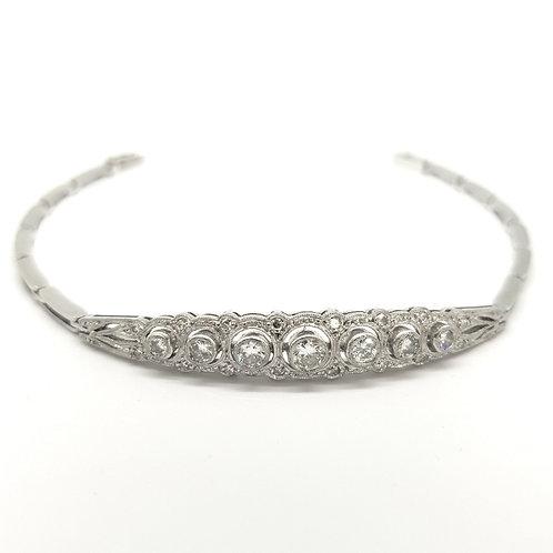 Art Deco diamond bracelet.