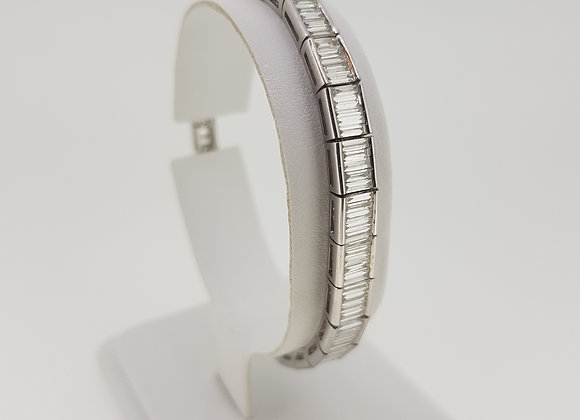 Baguette and diamond 6.02cts