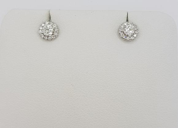 Diamond cluster studs.
