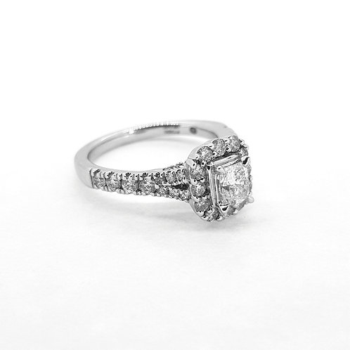 18Ct diamond ring 0.85Cts