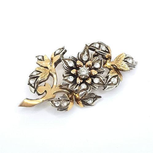 Vintage diamond brooch
