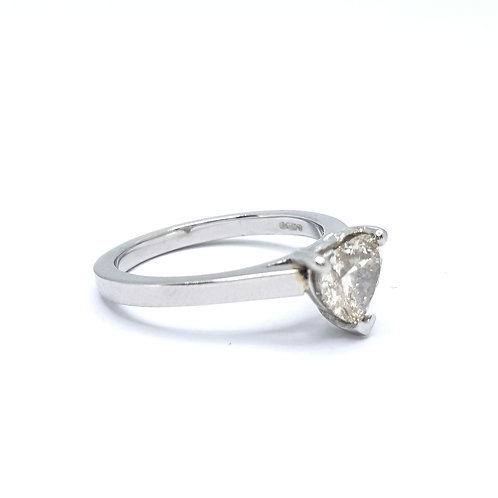 1.06ct Heart Diamond Ring