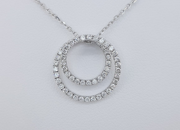 Diamond chain and pendant 0.50cts