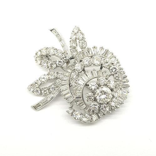 Diamond brooch circa 1960