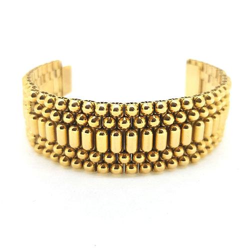 18Ct Antique gold bracelet 82.93g