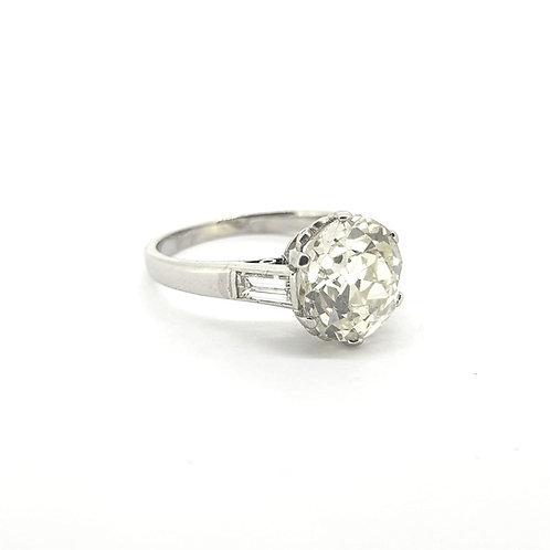 2.87 carat Diamond Solitaire