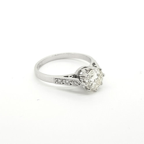 Solitaire diamond 0.90cts