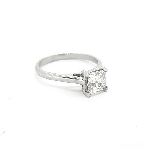 1.01ct Princess Diamond Ring