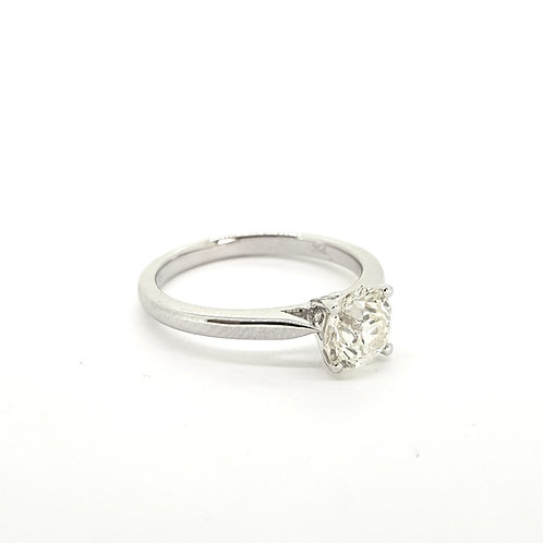 Solitaire diamond ring 1.12Cts