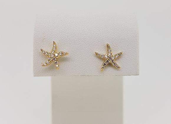 18ct diamond stars .18cts