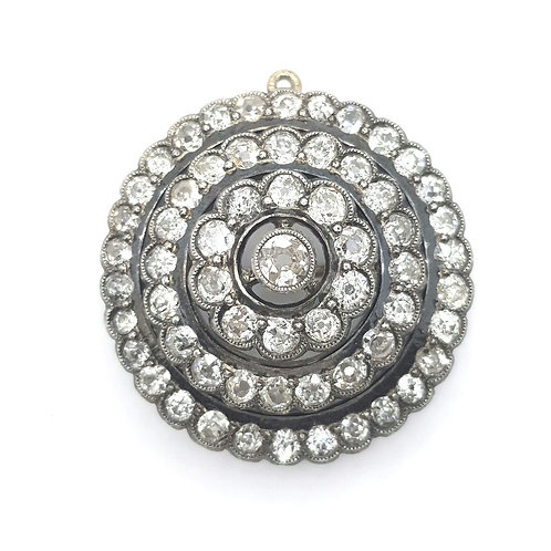 Diamond brooch / pendant