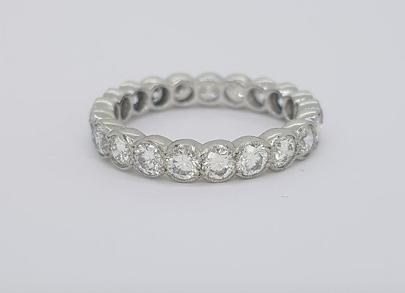 Full eternity band D2.10 cts