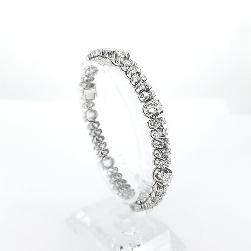 Diamond bracelet.