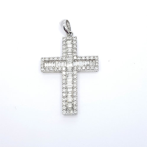Diamond cross 18CT D2.00CTS