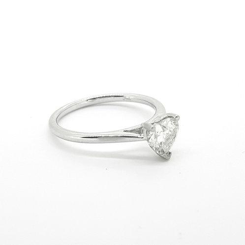 Heart shaped diamond est 0.70cts