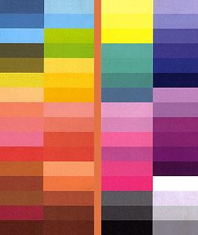 relooking : couleurs chaudes et froides