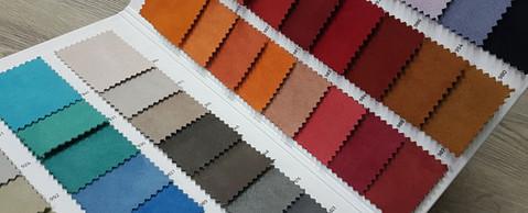 Colorimétrie : matières et couleurs de tissus