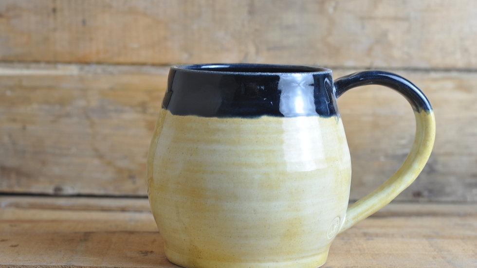 Large Lemon + Black Mug