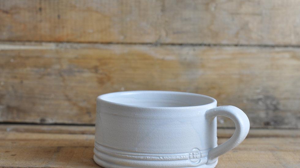 White 'Fat White' Mug