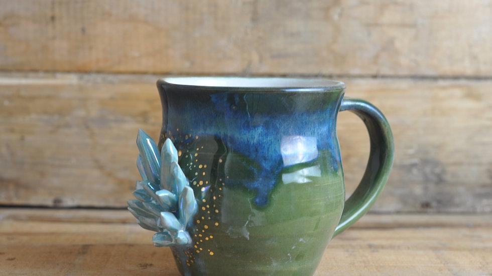 Crystal Mug with 22ct Gold Lustre
