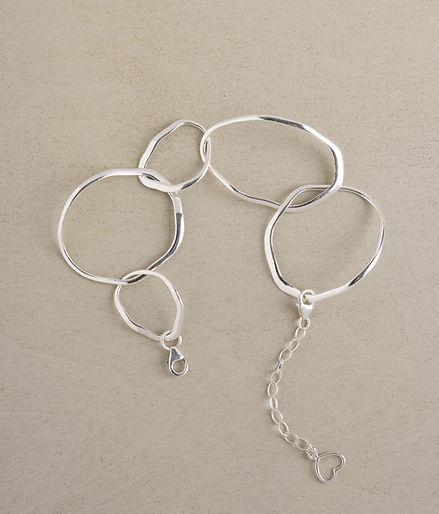 silver bracelat